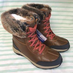 Columbia Bangor Omni-Heat Tan Snow Boots